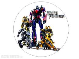transformers cake toppers transformers edible 7 cake topper for sale in dalkey dublin from