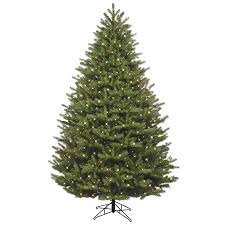 shop ge 7 5 ft pre lit oakmont spruce artificial christmas tree