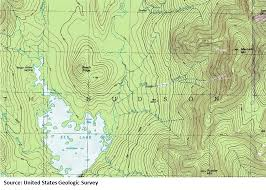 Montana Topographic Map by Navigation Basics Types Of Maps U2013 Camping And Hiking News
