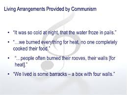 what does communism look like in her own words tiia ester