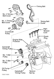 1997 toyota rav4 serpentine belt routing and timing belt diagrams