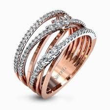 home design diamonds the intertwined design of this modern white and gold ring is