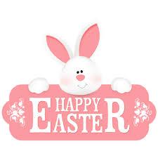 happy easter egg banner transparent png stickpng