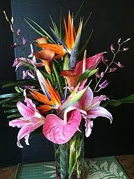 tropical flower arrangements our tropical flowers island home garden store