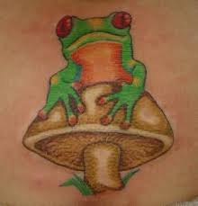 hippie mushroom tattoo design photos pictures and sketches
