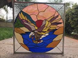 octagon stained glass window stained glass panels archives stainedglasswindows com