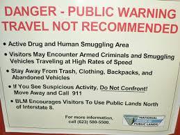 Arizona travel warnings images Obama creates 500 000 acre paradise for illegal aliens drug jpg