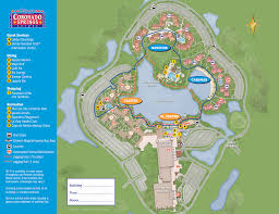 Walt Disney World Map Pdf by Map Of Disney My Blog