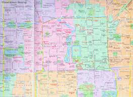 Beijing China Map by Beijing Downtown Map Map Of Downtown Beijing China Beijing