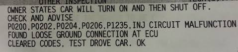 recall on lexus es300 need help 08 is350 stalling after valve timing recall page 2