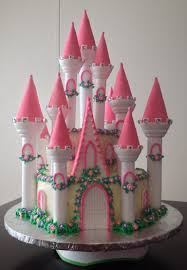 my first attempt at a castle cake by jenn cake decorating