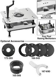 Fine Woodworking Router Lift Reviews by Woodworker Com Woodtek U003csup U003e U003c Sup U003e Deluxe Router Lift