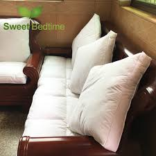 custom made duck down feather sofa cushion inserts back cushion