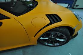 porsche gt3 rs yellow 2016 porsche 911 gt3 rs gets retro look with racing orange matt