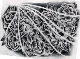 flowers black and grey by willemxsm on deviantart
