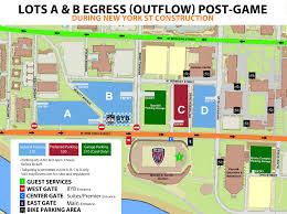 University Of Miami Parking Map by Take Extra Time To Park At Carroll Indy Eleven