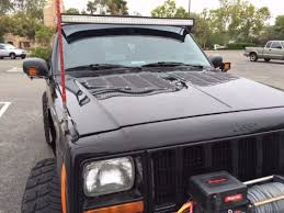 jeep louvers jeep xj louvered aluminum bolt on cooling panels