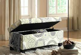 fabric storage bench bedroom fabric bench for bedroom adecotrading