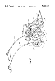 patent us5520253 custom assembled equipment for landscaping