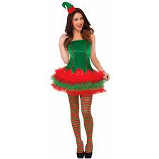 womens sassy elf costume buycostumes com