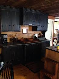 Black Rustic Kitchen Cabinets Kitchen Cabinets Peoria Il Faced