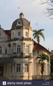 malaysia penang georgetown colonial mansion old house stock