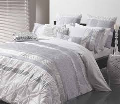 Silver Duvet Cover Sara Silver Quilt Cover Set By Logan U0026 Mason Ultima Planet Linen