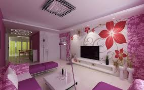 livingroom wall decor interior pretentious purple wall color living room decor combine