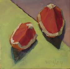 complementary paint colors almost daily paintings split complementary 6 x 6