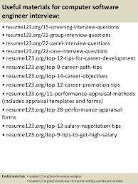 Software Engineer Resume Template Top 8 Computer Software Engineer Resume Samples