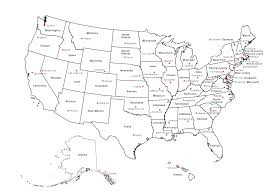map usa states capitals map of usa capital cities within us state capitals and major