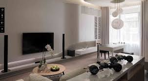 remodell your home decoration with amazing superb all white living
