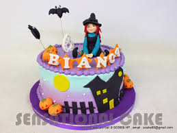 Halloween Witch Cake by The Sensational Cakes Halloween Witch Theme 3d Cake Singapore