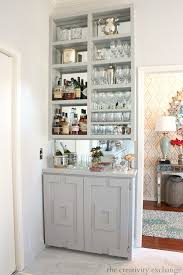 Mirrored Bar Cabinet Built In Bar Cabinet Mirrored Bars Ideas Diy Plans And