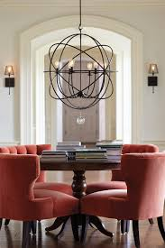Dining Room Wing Chairs by Dining Room Interesting Black Medium Dining Room Chandelier Size