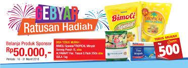 Minyak Goreng Tropical Di Alfamart loyalty program