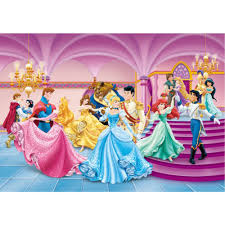 disney prince princesses wallpaper great kidsbedrooms the home