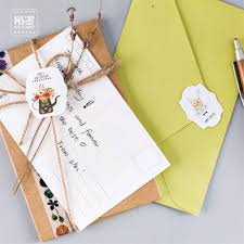 writing paper set online get cheap stationery letter paper aliexpress com alibaba card 2 pcs envelope 4 pcs letter paper flowers potted letter pad set children stationery writing paper office school supplies