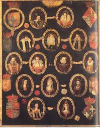 family tree of king james i of england and king vi of scotland
