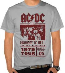 Baju Ac Dc jual kaos ac dc highway to hell vintage ac dc satubaju