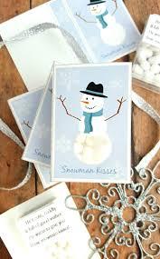 snowman kisses printable diy tic tac stocking stuffer jamonkey
