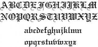 old english tattoos tattoo designs with olde english lettering