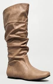s qupid boots amazon com qupid neo 144 basic casual slouchy flat knee