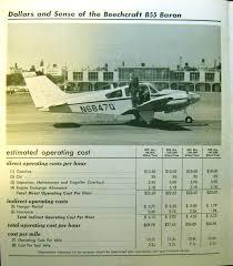 csobeech beechcraft baron vintage 1966 pricing u0026 spec sheets