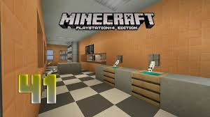 minecraft ps4 city 41 fast food store interior youtube