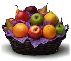 organic fruit basket 6lb seasonal fresh fruit gift basket california gourmet company
