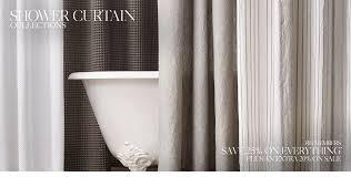 Restoration Hardware Shower Curtains Designs Shower Curtains Rh