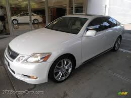 2007 lexus es 350 white 2007 lexus gs 450h hybrid in starfire white pearl photo 4