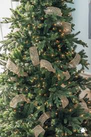 Best Way To Decorate A Christmas Tree How To Decorate A Christmas Tree With Ribbon Kelley Nan