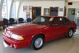 1988 gt mustang showroom 134 mile 1988 ford mustang gt 5 speed bring a